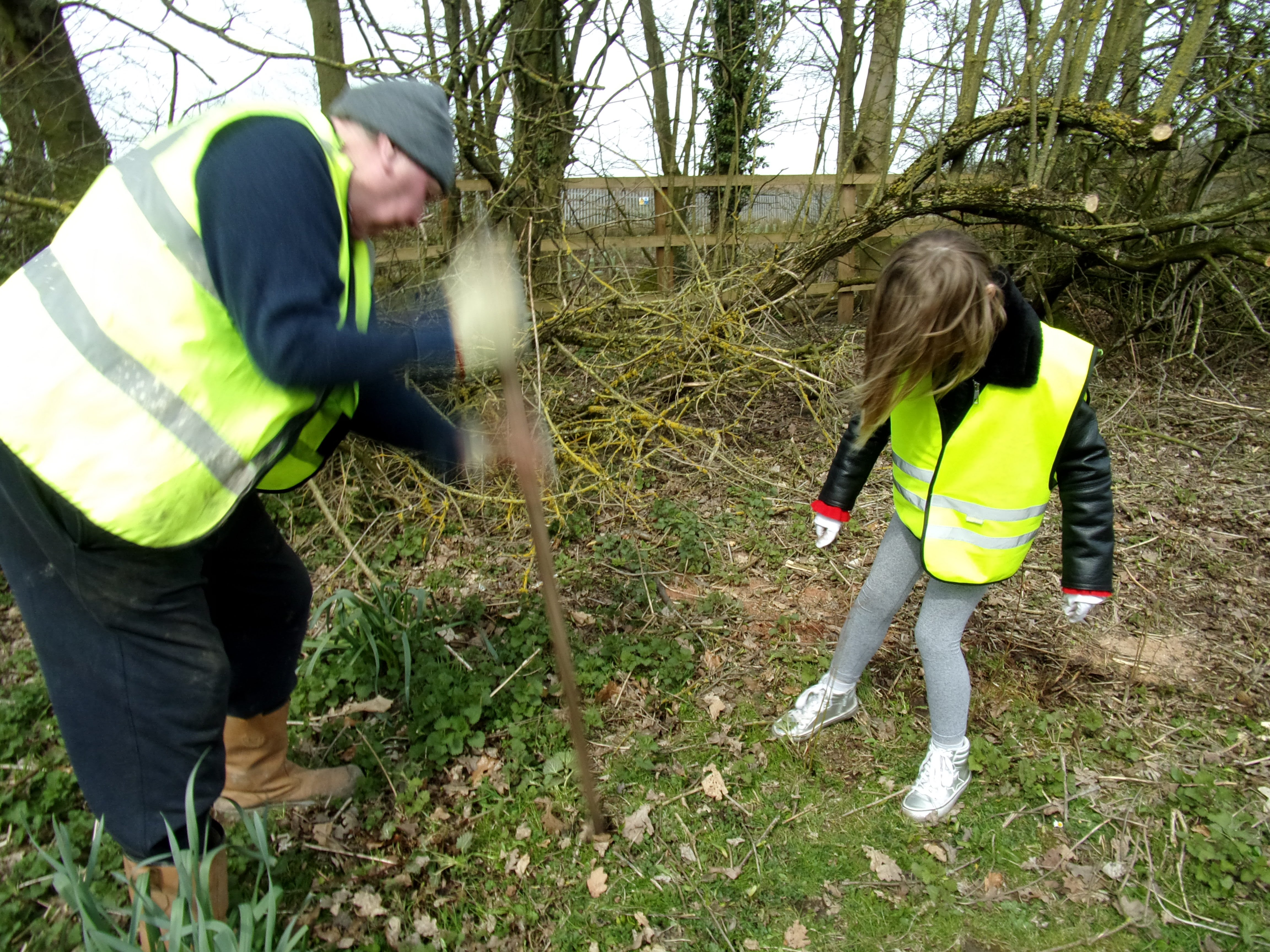 Spring clean, Hopnock/Bursnips Road junction